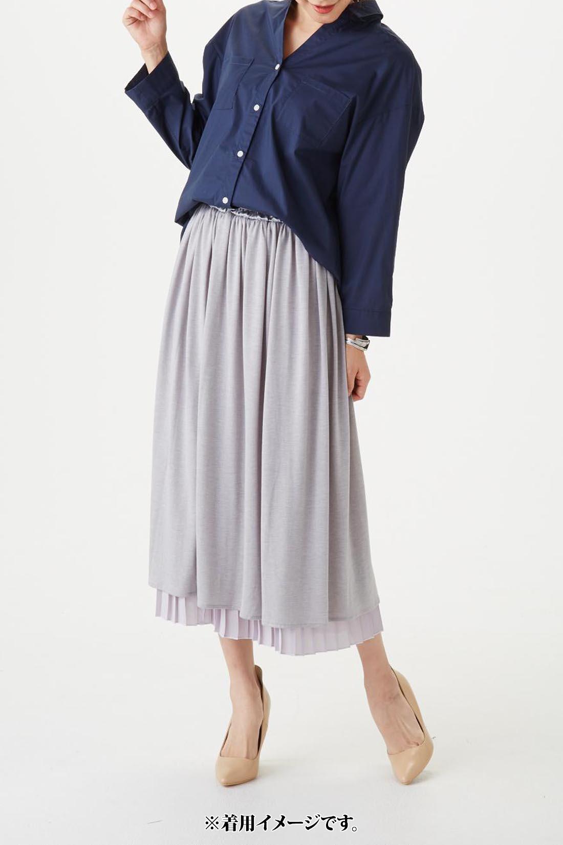 モデル身長:165cm 着用サイズ:M 袖を伸ばした時の長さの参考にされてください。