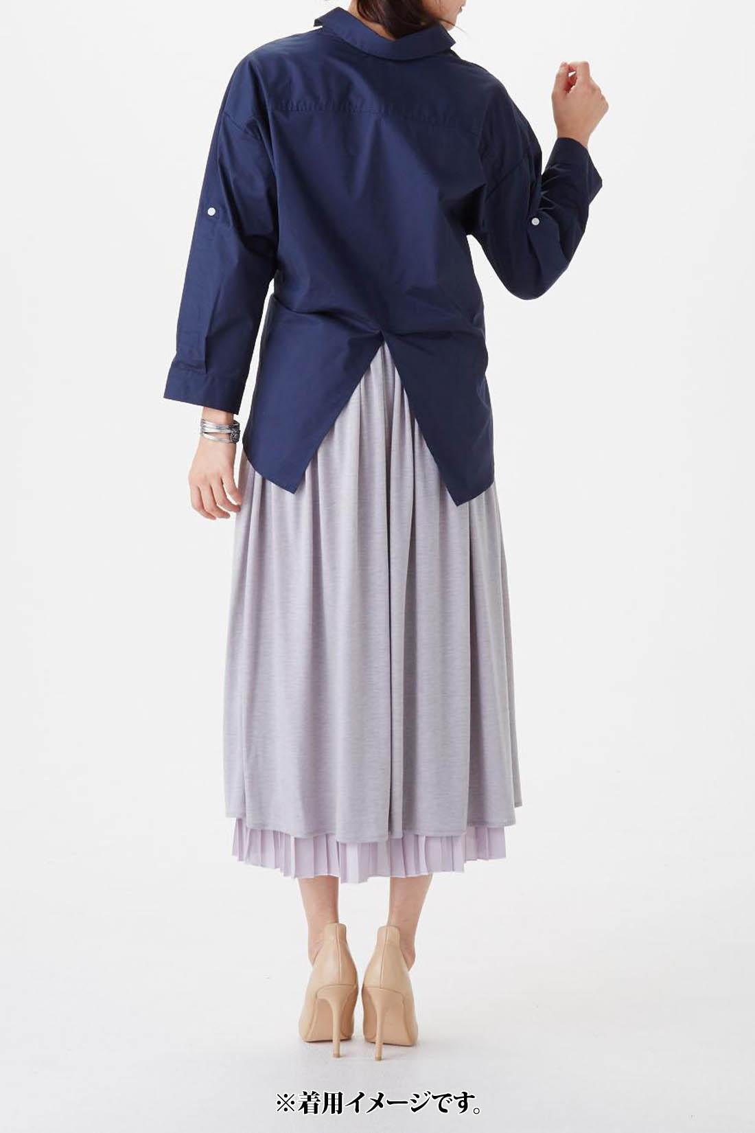 モデル身長:165cm 着用サイズ:M 袖を伸ばした時の長さの参考にされてください。お届けするカラーとは異なります。