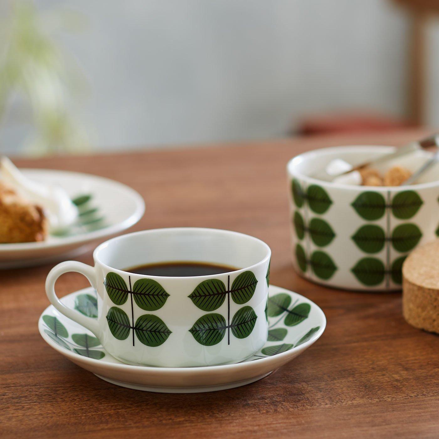 スティグ・リンドベリ 磁器のコーヒーカップ&ソーサー〈ベルサ〉