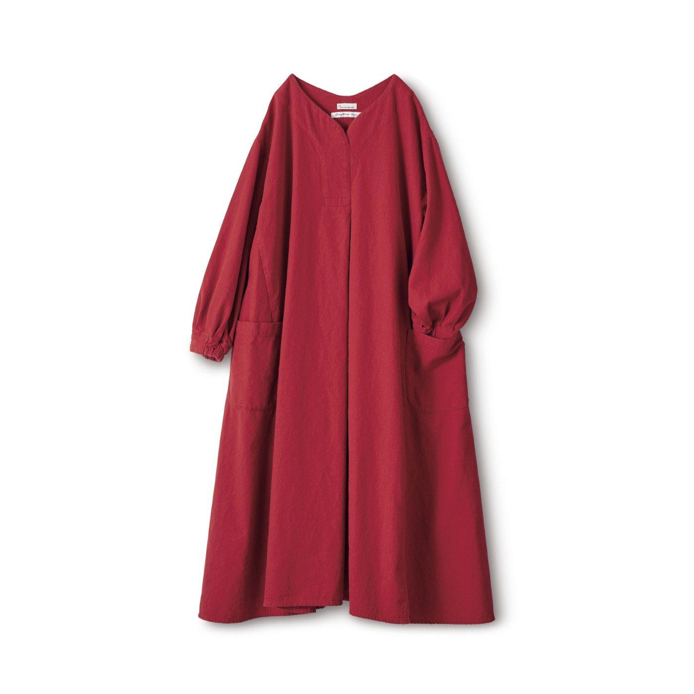 サニークラウズ kazumiの赤いワンピース〈レディース〉
