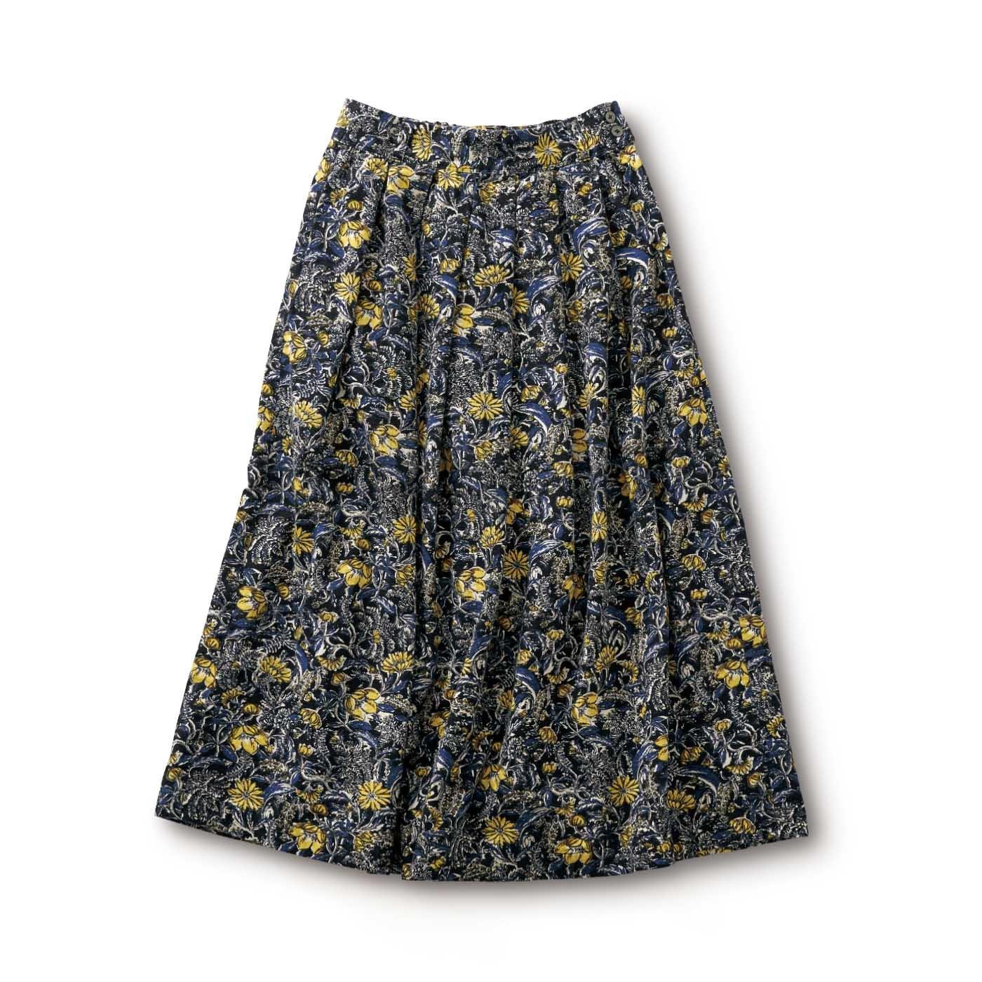 サニークラウズ 冬の花畑スカート〈レディース〉
