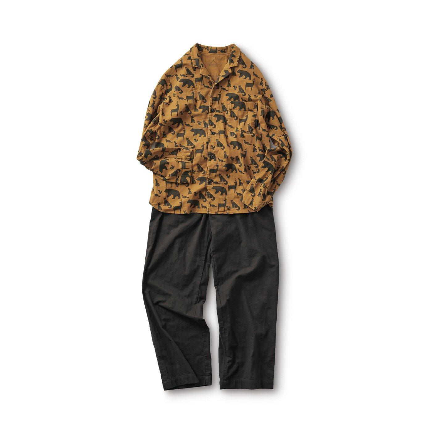 サニークラウズ どうぶつだらけパジャマ〈メンズ〉