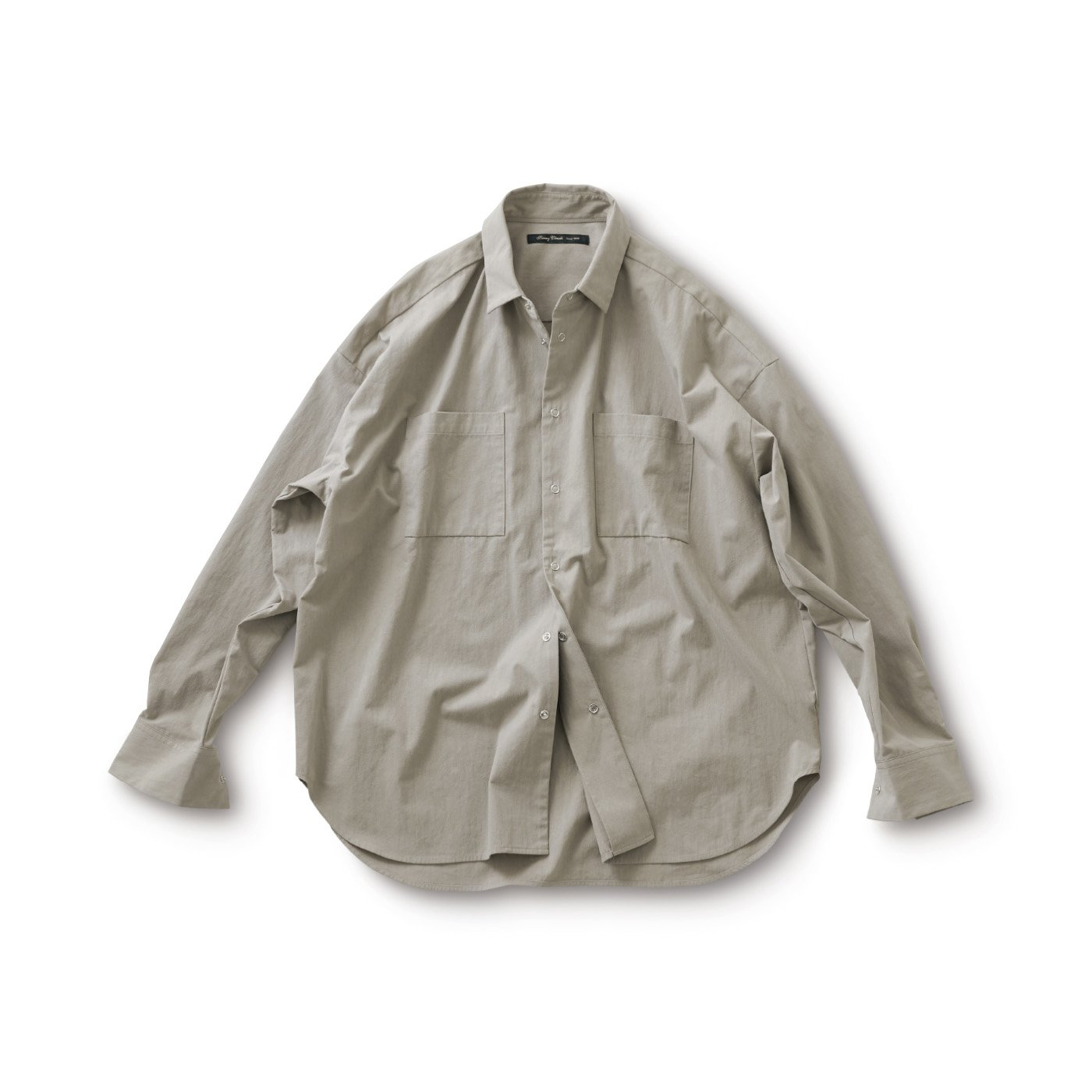 サニークラウズ 綿ナイロンのシャツ〈メンズ〉