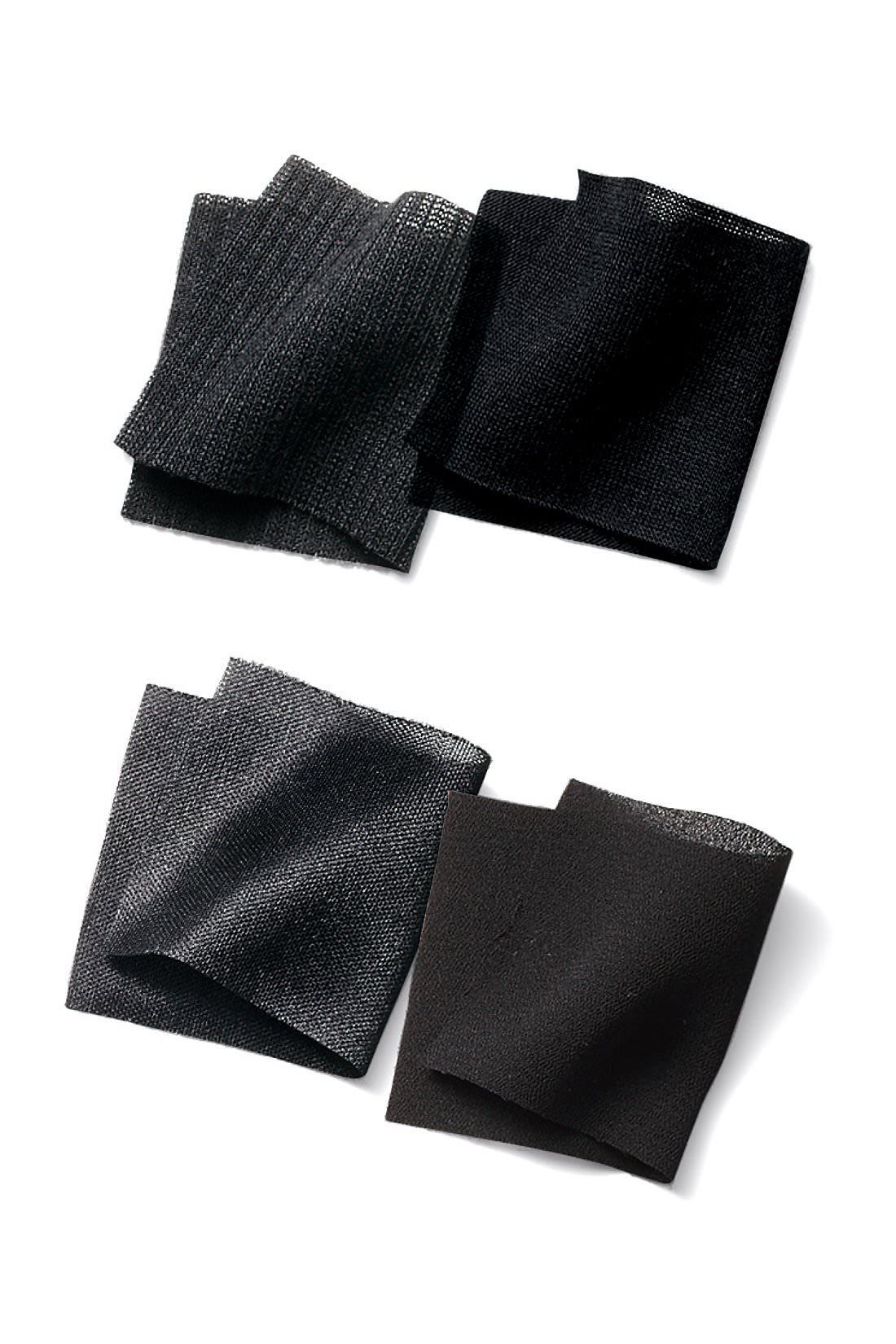 しなやかな布はく素材にカットソーを組み合わせました。