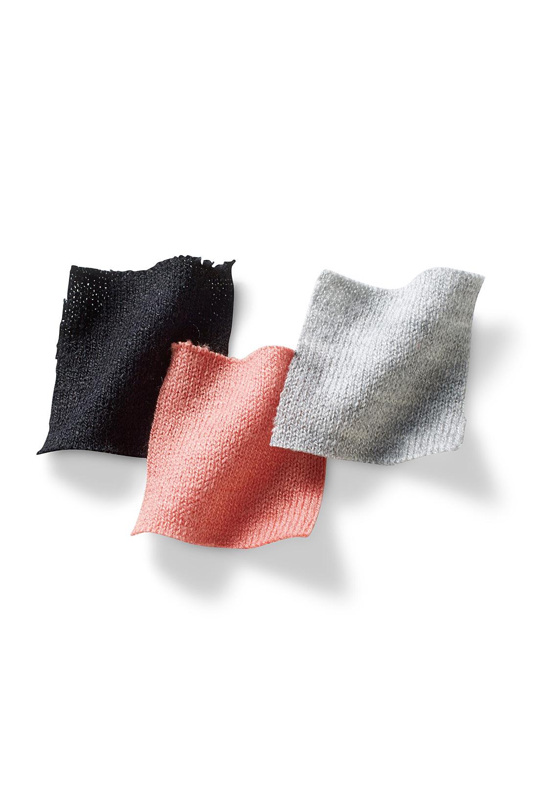 滑らかでやさしい肌ざわりにうっとり。コットンやレーヨン、そしてバンブー由来のレーヨンに加えて、リネンが混紡された肌当たりのよさが特徴のとてもやわらかな素材です。