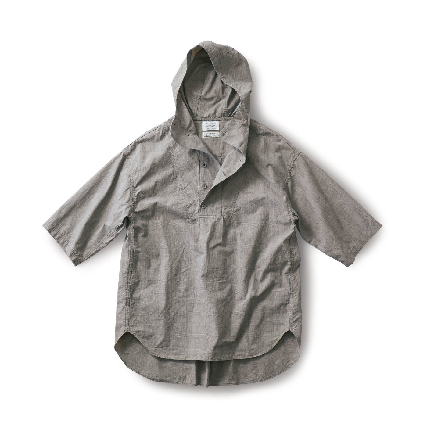 サニークラウズ feat. Shuttle Notes パーカーになりたかったシャツ〈メンズ〉