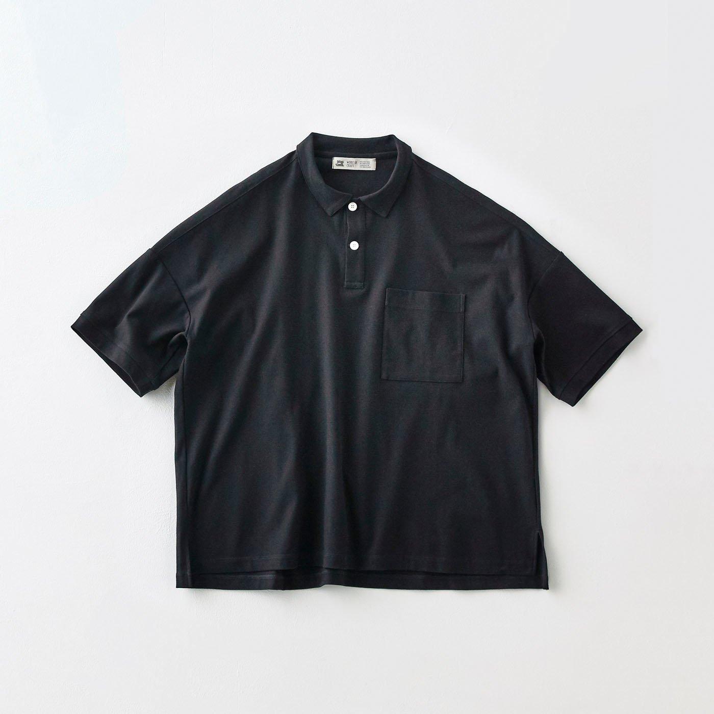 サニークラウズ 経編みポロシャツ〈メンズ〉