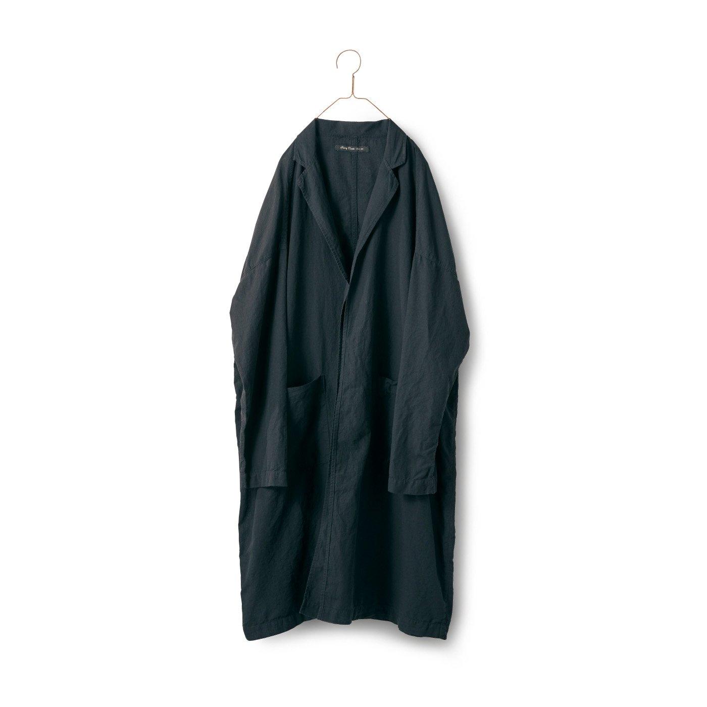 サニークラウズ 極薄コート〈メンズ〉黒