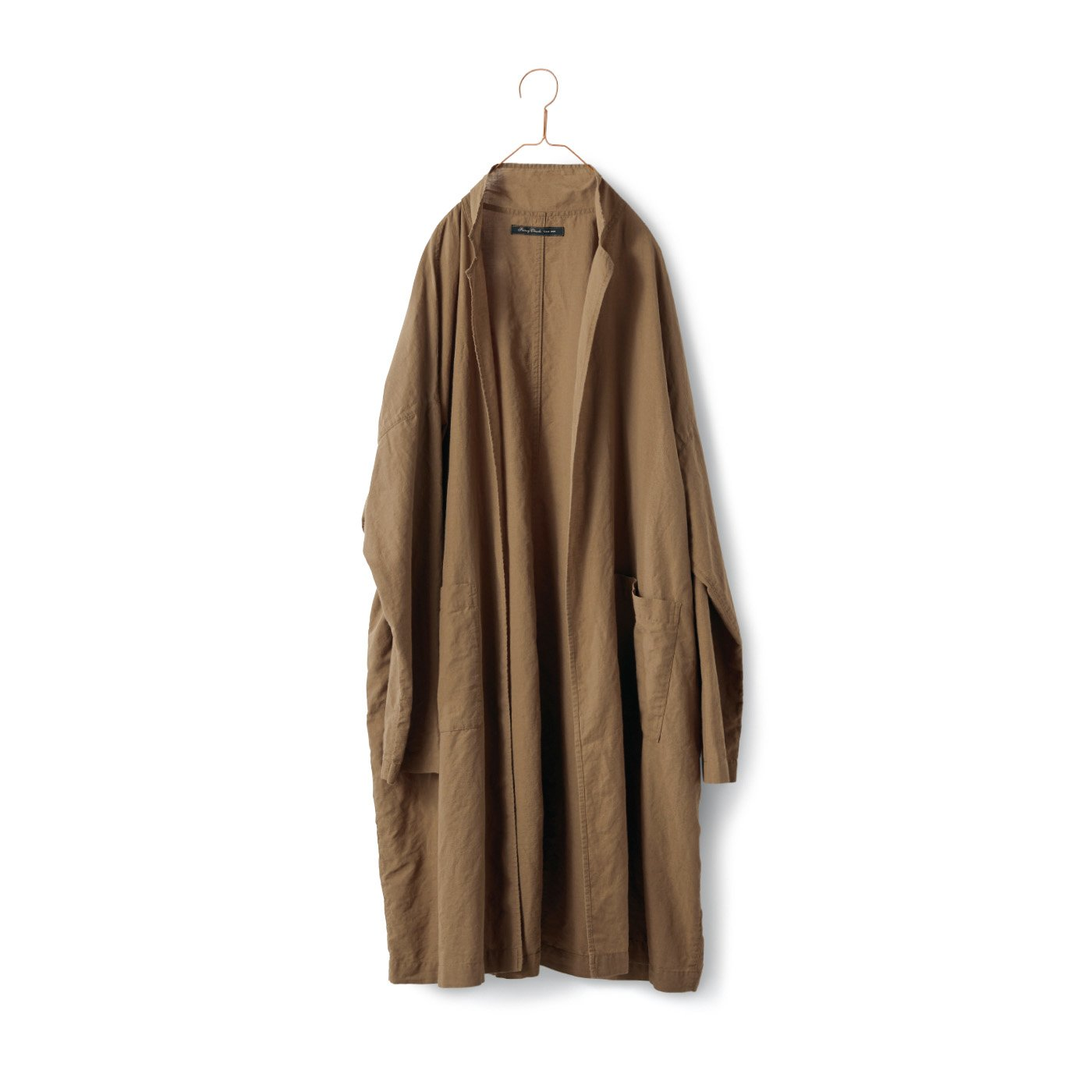 サニークラウズ 極薄コート〈メンズ〉ベージュ