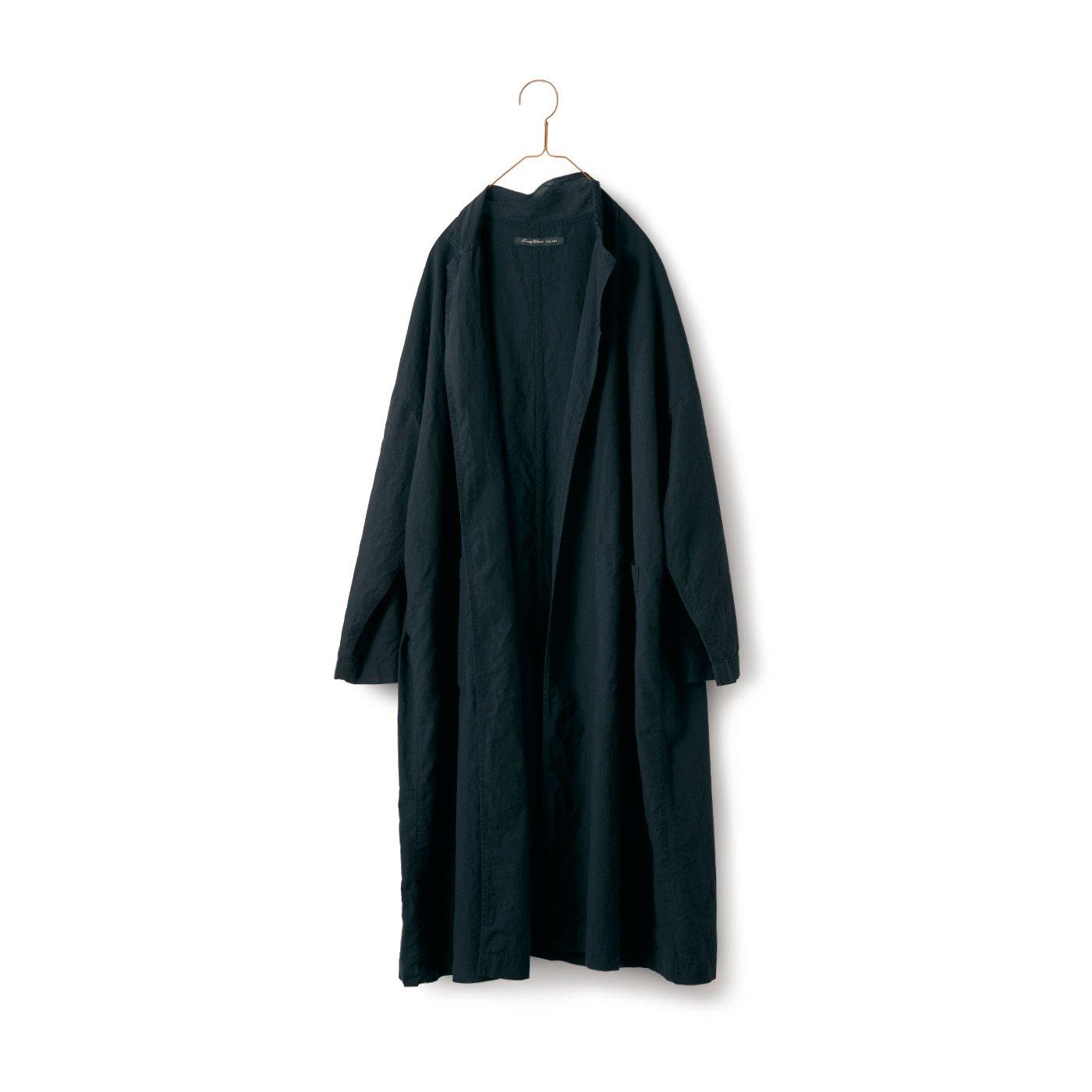 サニークラウズ 極薄コート〈レディース〉黒