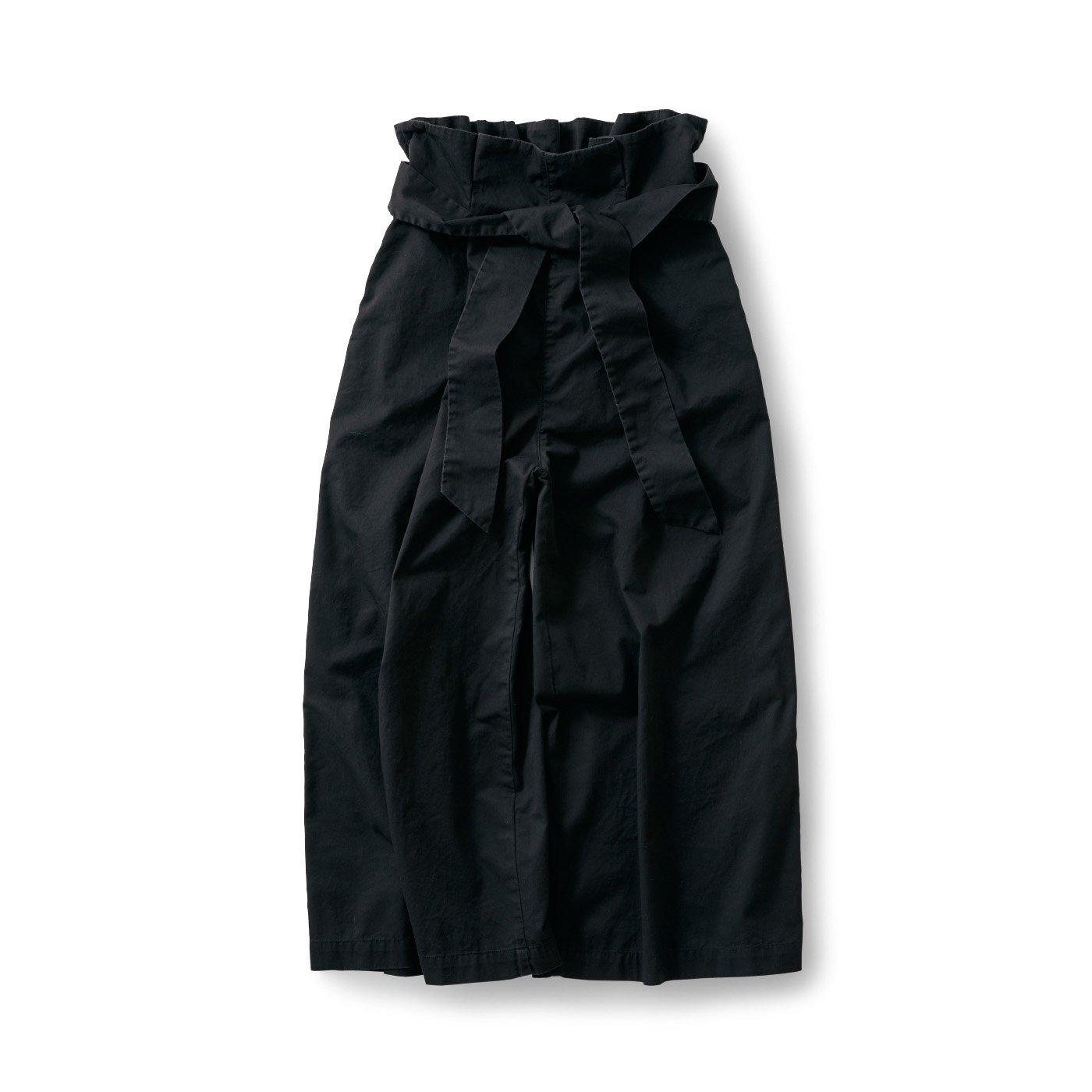 サニークラウズ リボンパンツ〈レディース〉黒