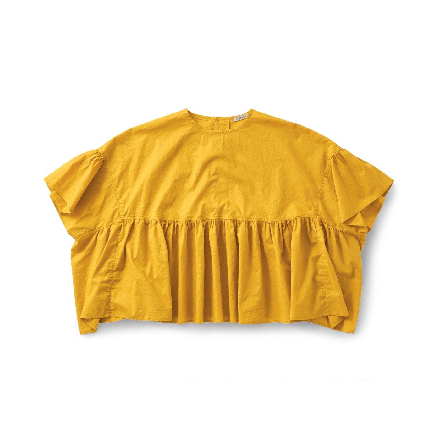 サニークラウズ ゆらゆらクラゲトップス〈レディース〉黄色