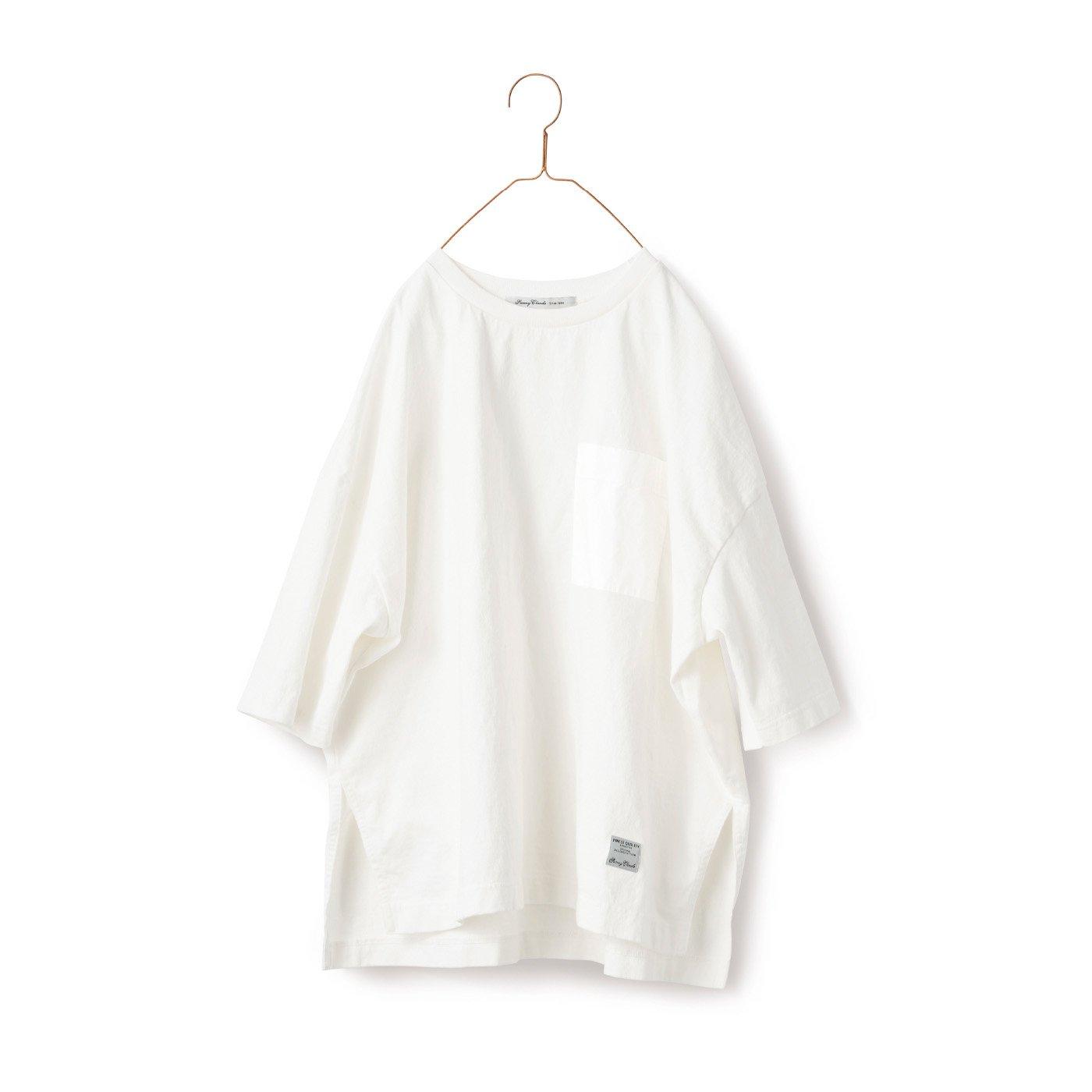 サニークラウズ ドデカいTシャツ〈メンズ〉白