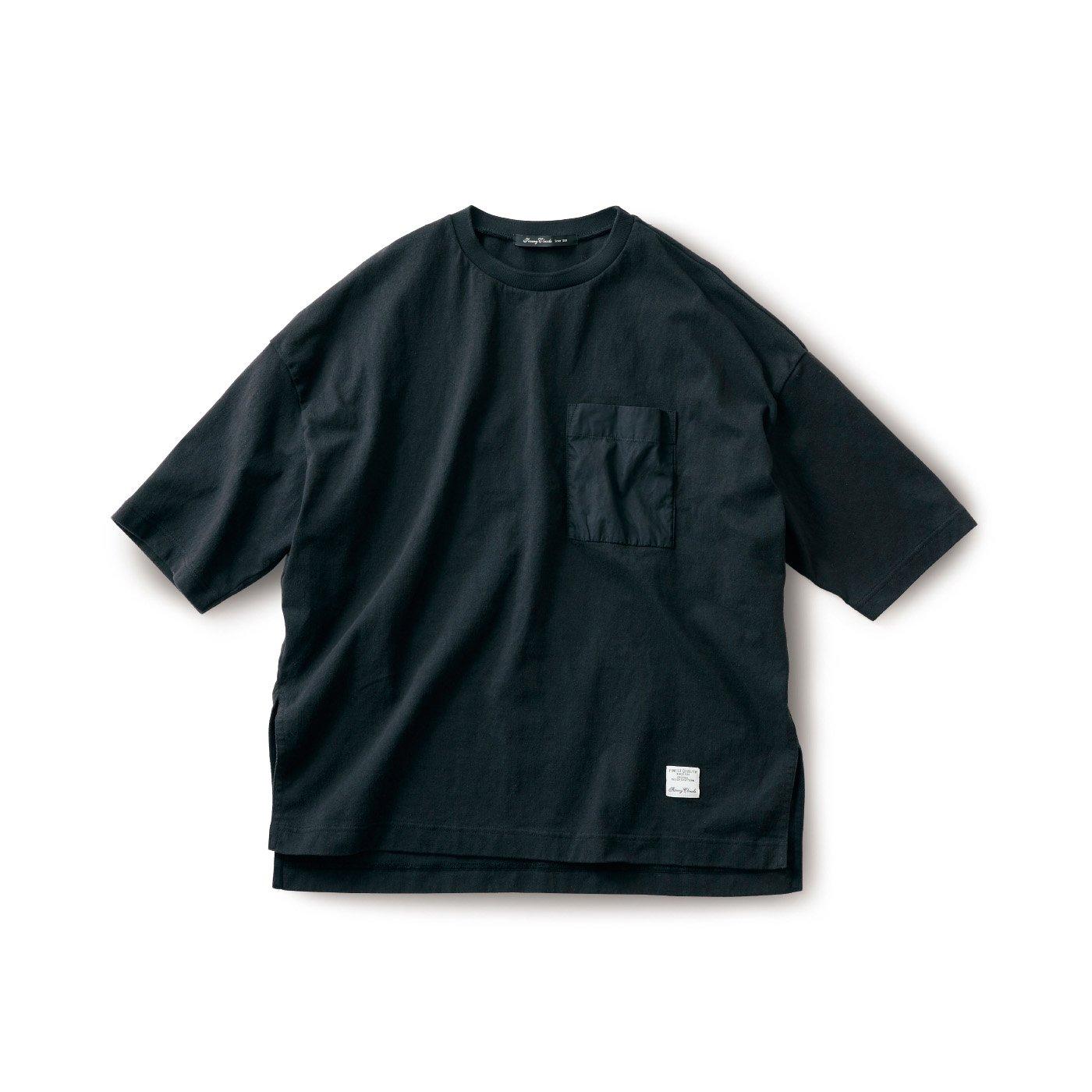 サニークラウズ ドデカいTシャツ〈メンズ〉黒
