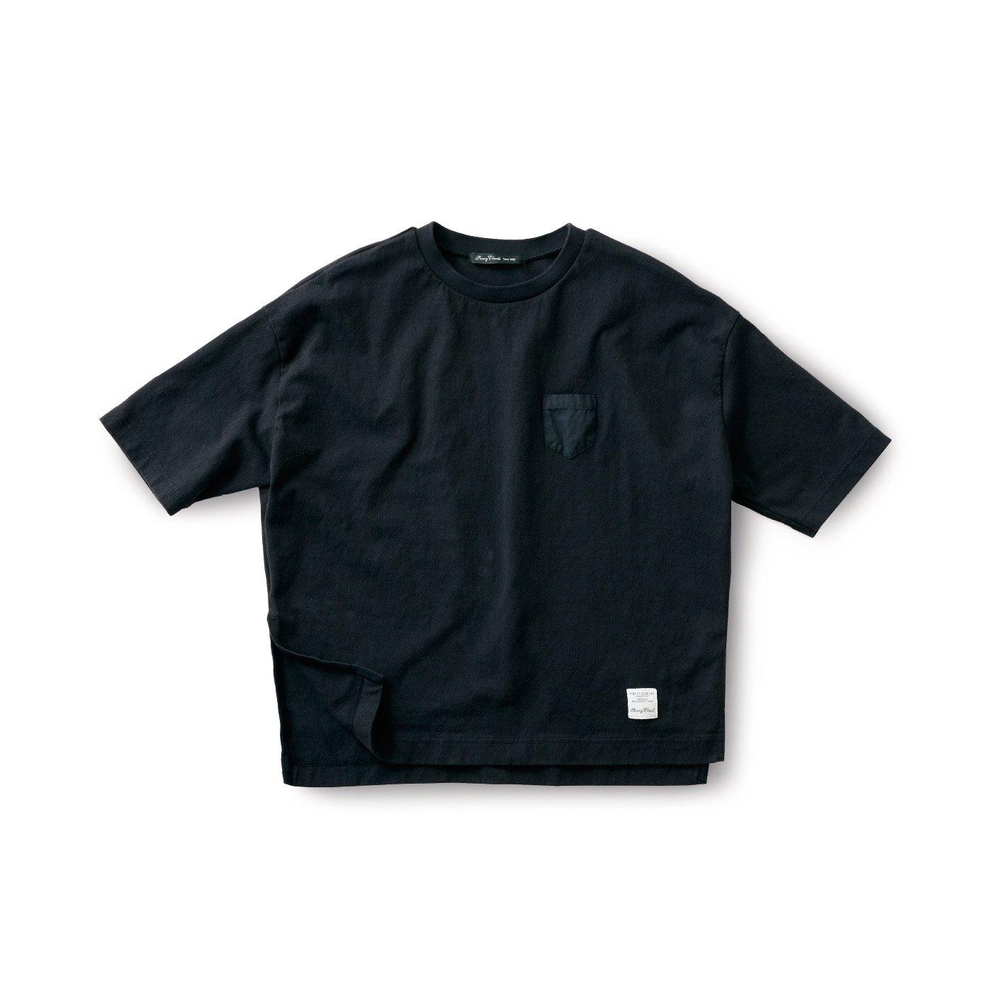 サニークラウズ ドデカいTシャツ〈レディース〉黒