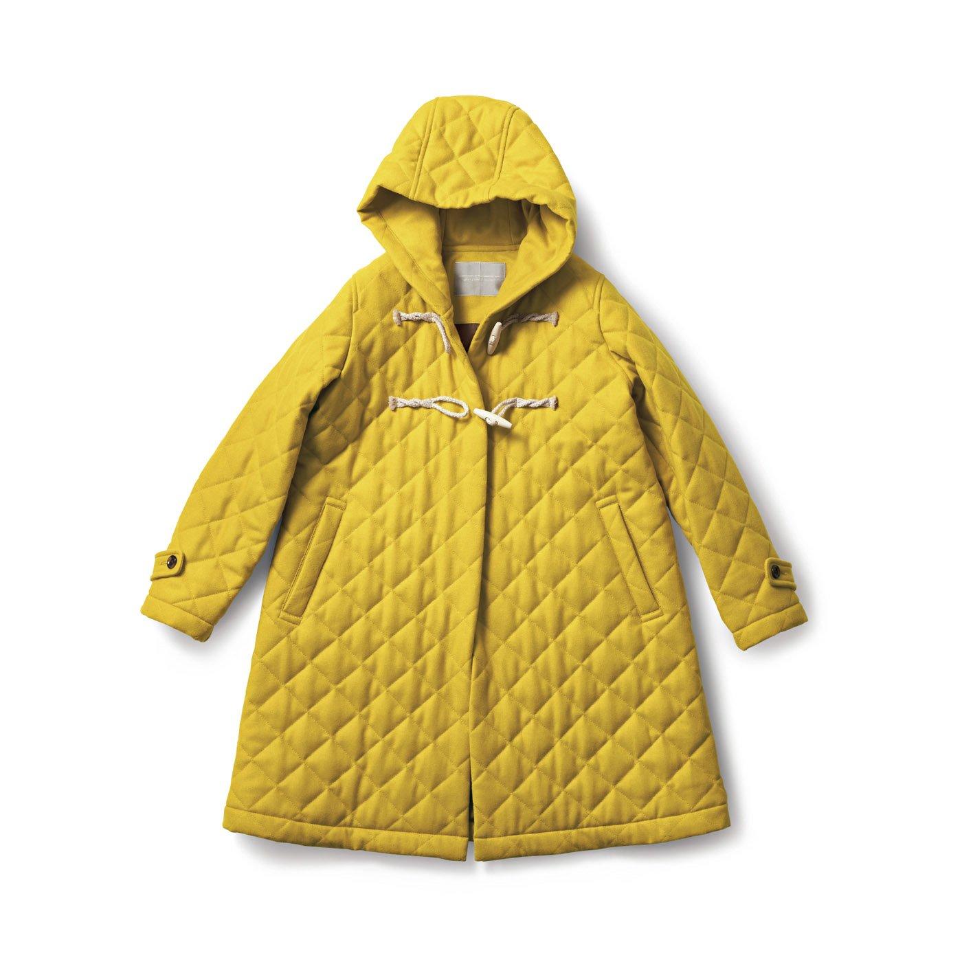 SUNNY CLOUDS  ひまわり色のダッフルコート〈レディース〉