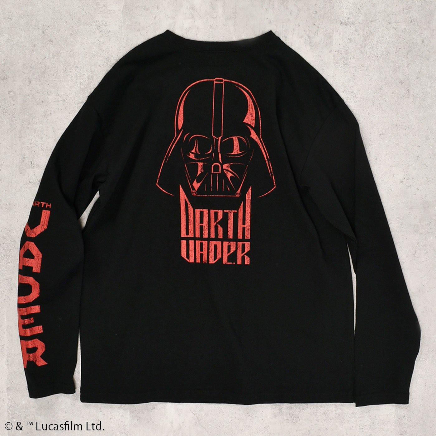 STAR WARS オーバーサイズロングスリーブTシャツ<ダース・ベイダー>