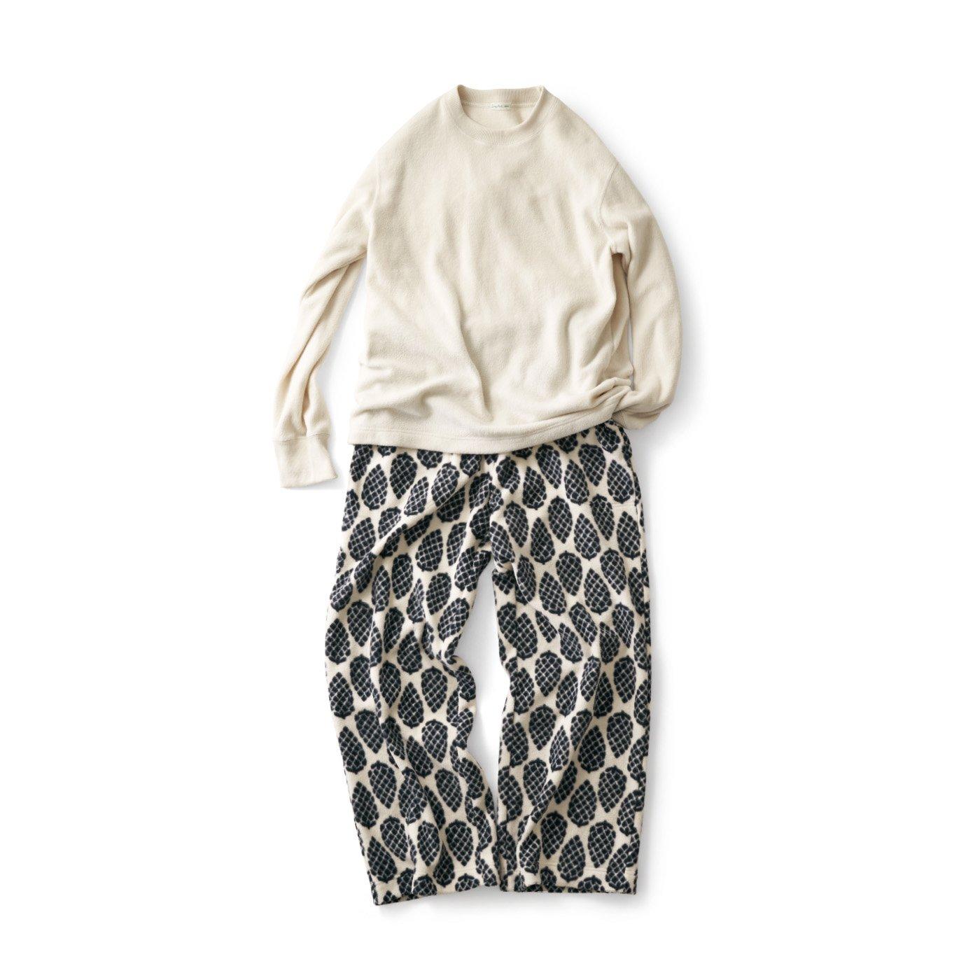 サニークラウズ  フリースぼっくりのパジャマ〈メンズ〉