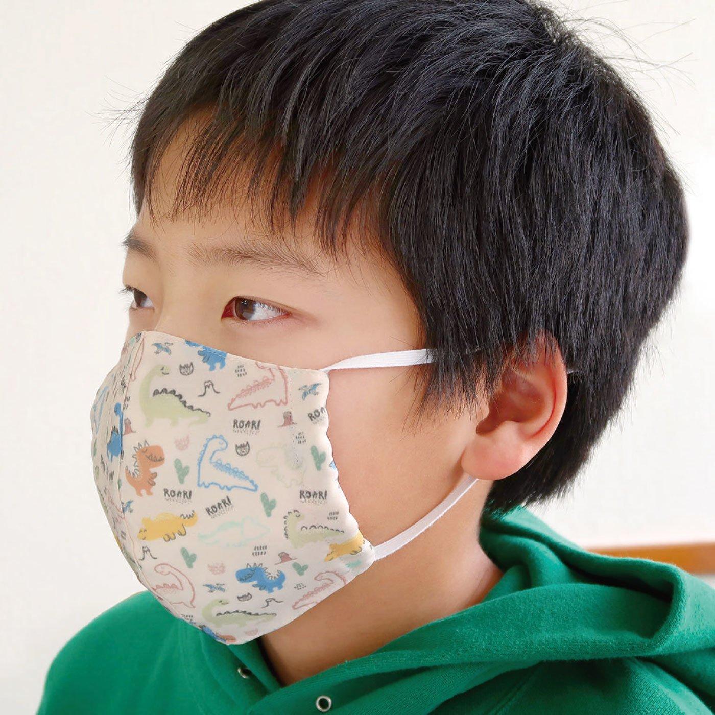 超はっ水素材でサラサラさらり布製マスク【キッズ】