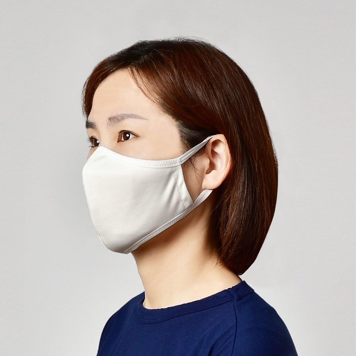 ひんやり素材で乗り切る! 旭化成のペアクール(R)使用 接触冷感マスク