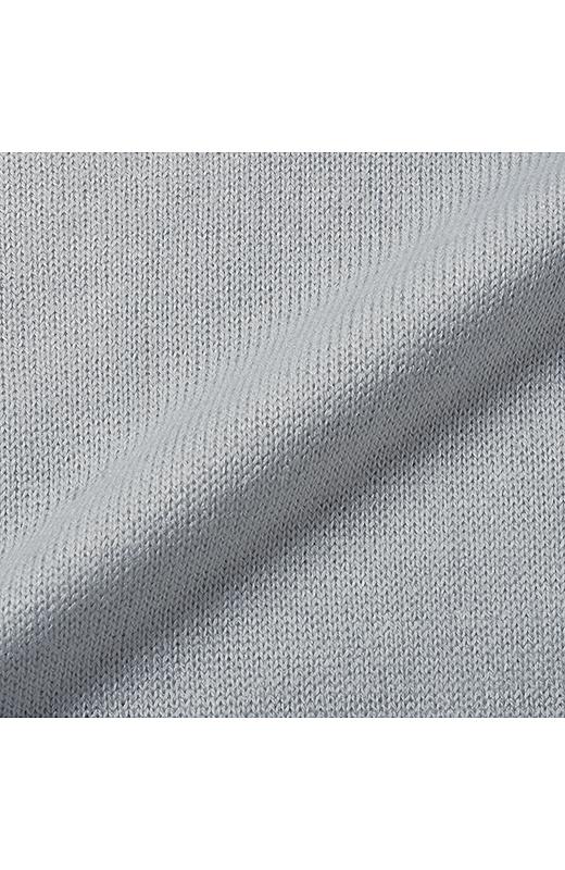 ハイゲージニットはしなやかできれいな素材。