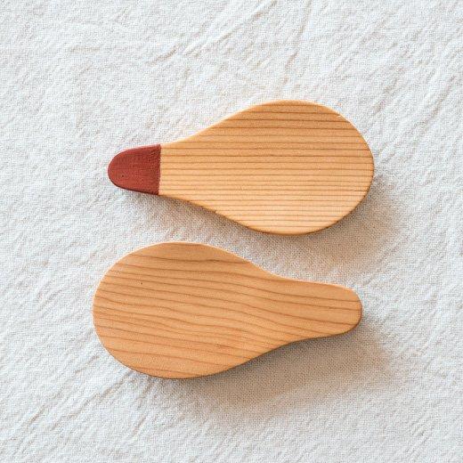 手づくりおさじプログラム 追加購入用木材 ちゃさじ(イチイ)