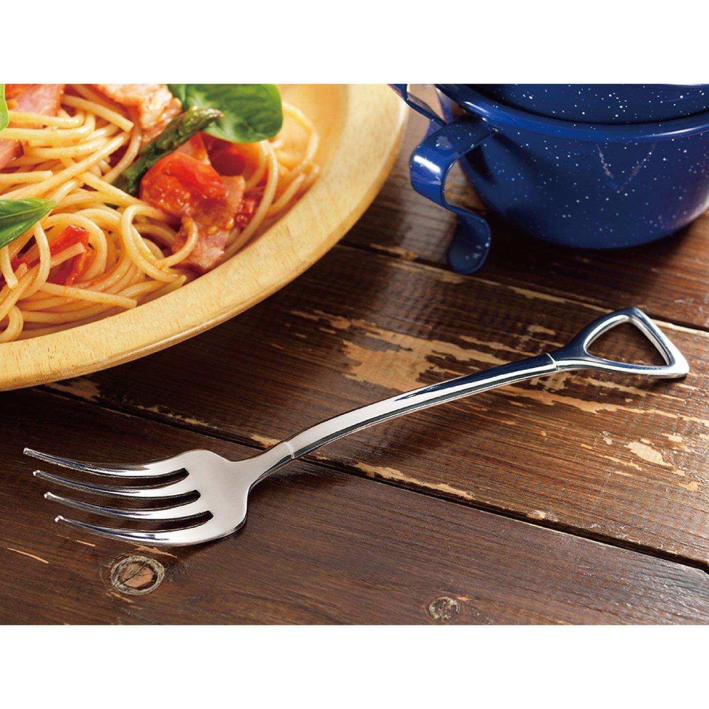 燕の技術が生んだユーモア☆カトラリー スパゲティーフォーク5本セット