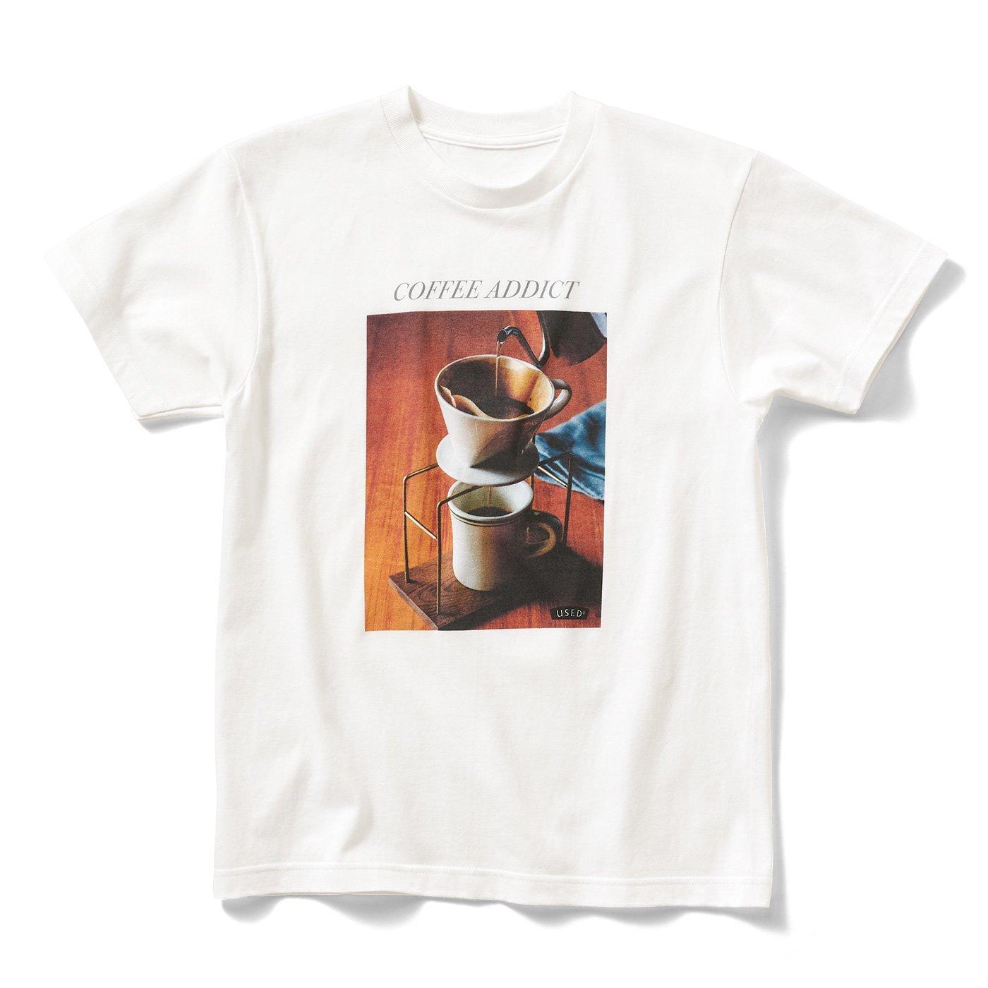 喫茶店のフォトTシャツ〈COFFEE〉