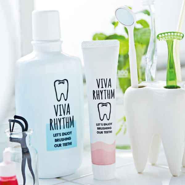 フェリシモ 歯みがき時間を楽しくする美歯リズムプログラムトライアル(磨き方の基礎)