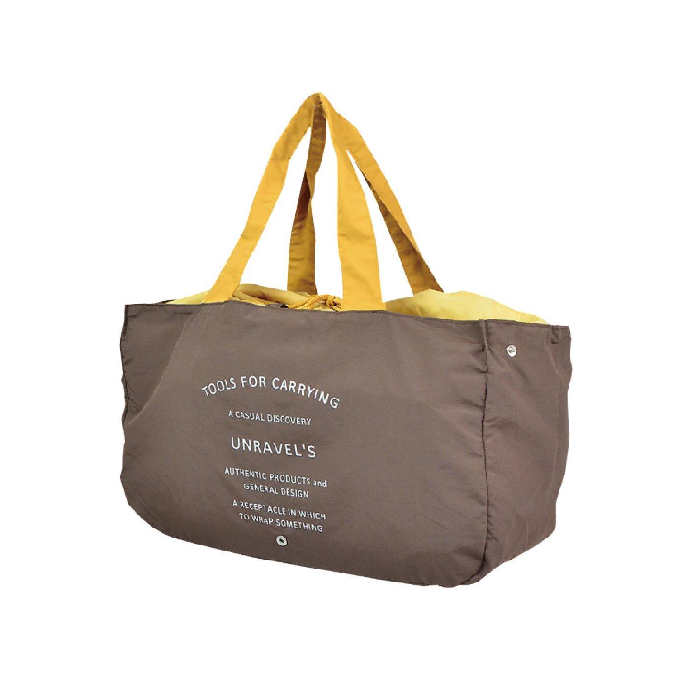 小さくたためて持ち運びに便利 ルパレジカゴバッグ