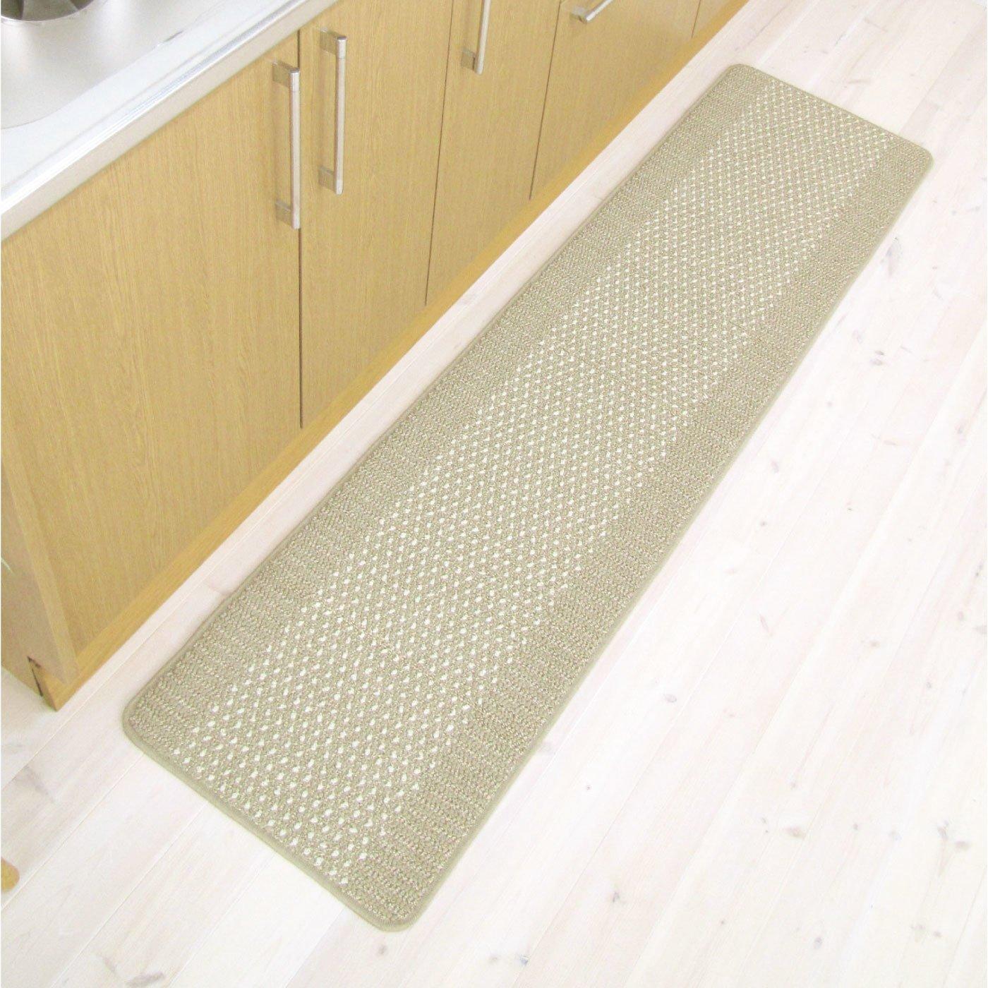 優踏生 洗いやすいキッチンマット45×180