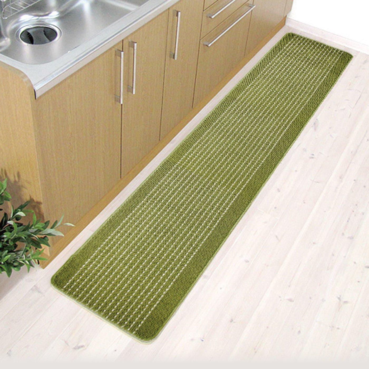 優踏生 洗いやすいキッチンマット45×240