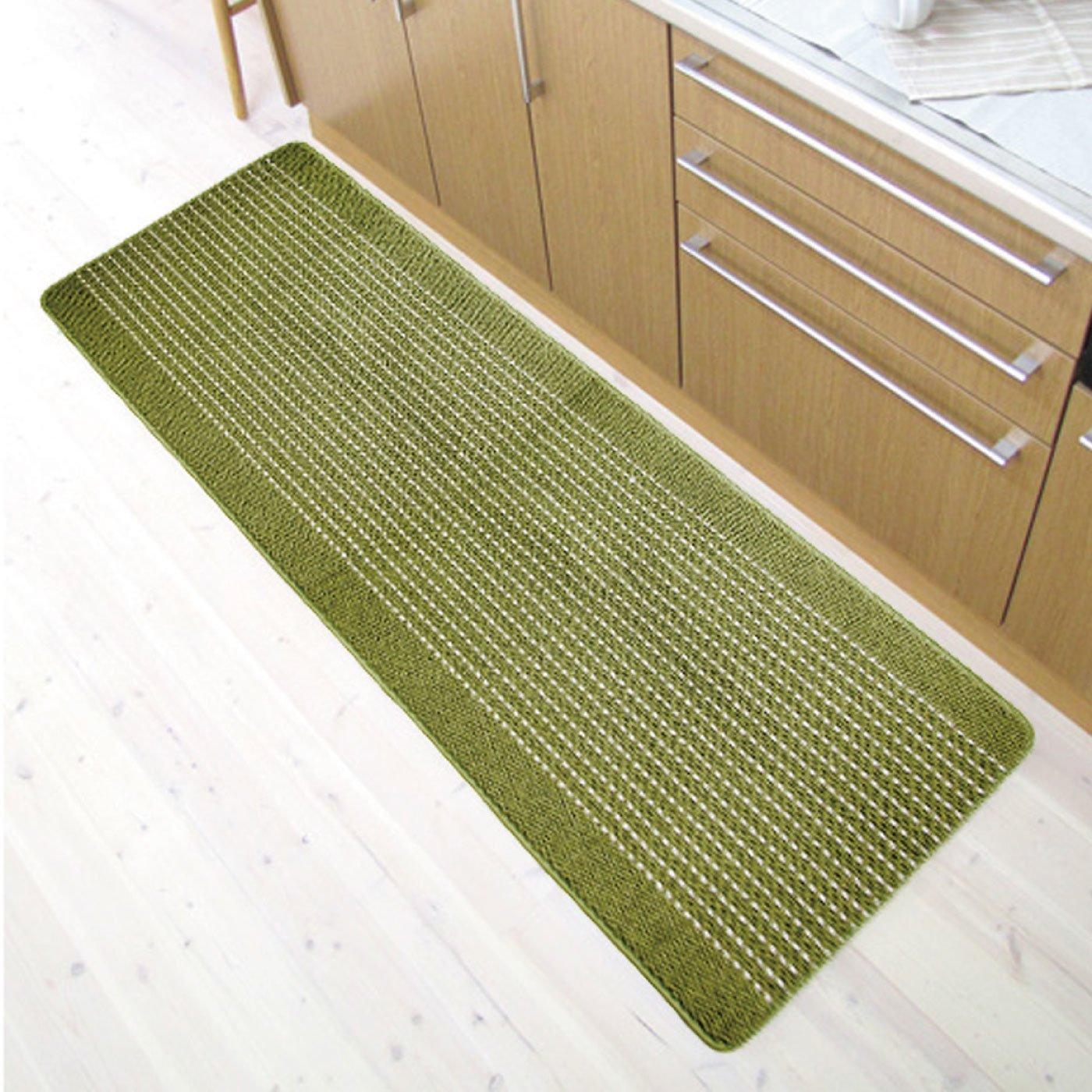 優踏生 洗いやすいキッチンマット60×180