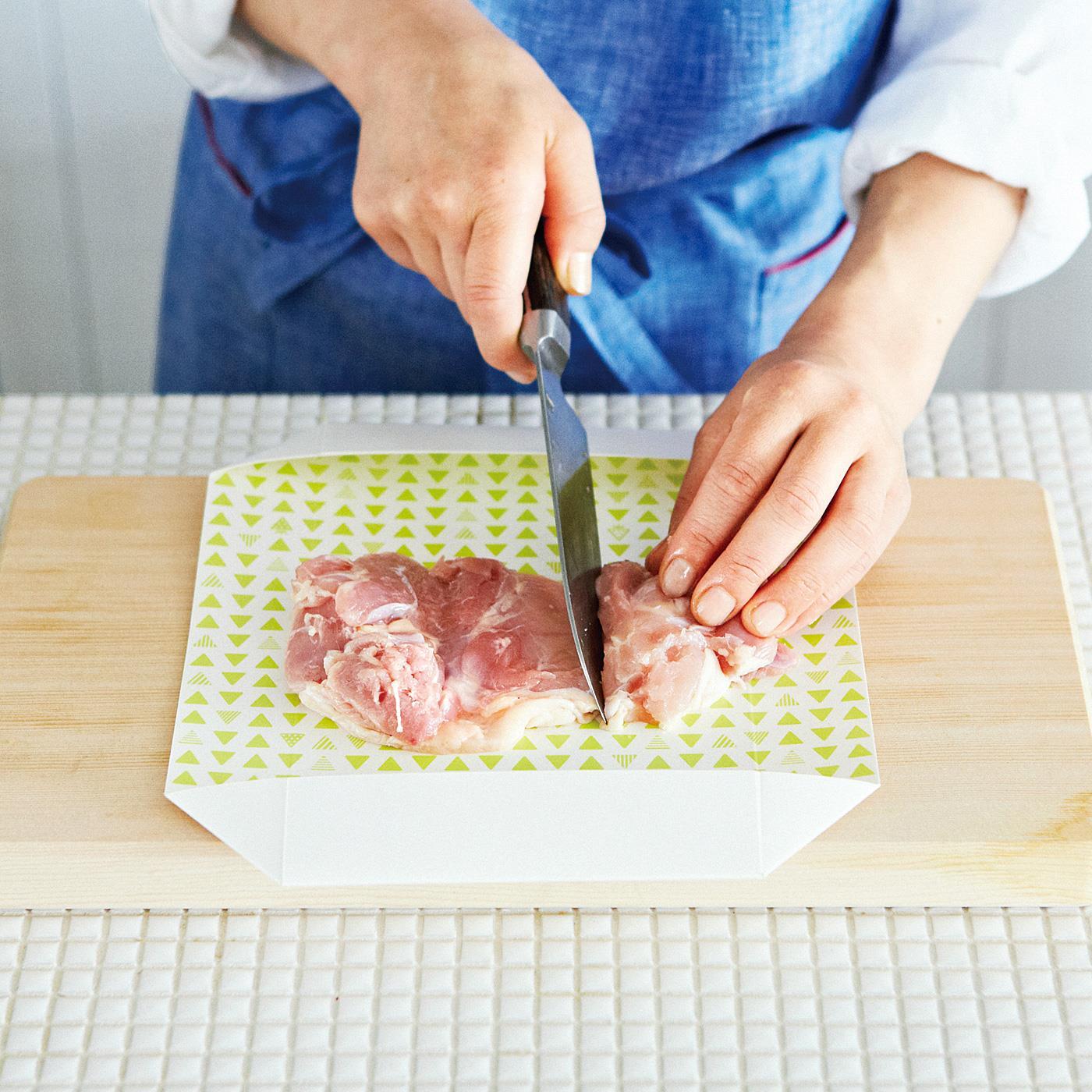 フェリシモ 下ごしらえスムーズ 洗い物が減ってうれしい 箱に変身! まな板シートの会【定期便】
