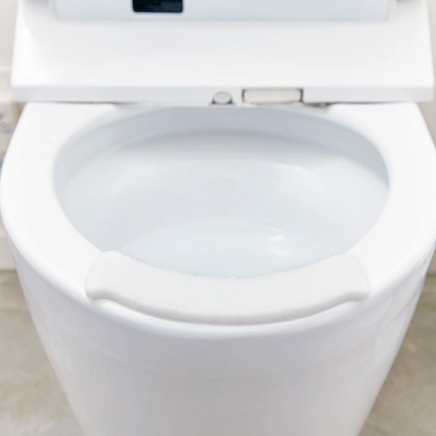 貼るだけお掃除らくらく 便座すき間の尿はね吸収パッドの会