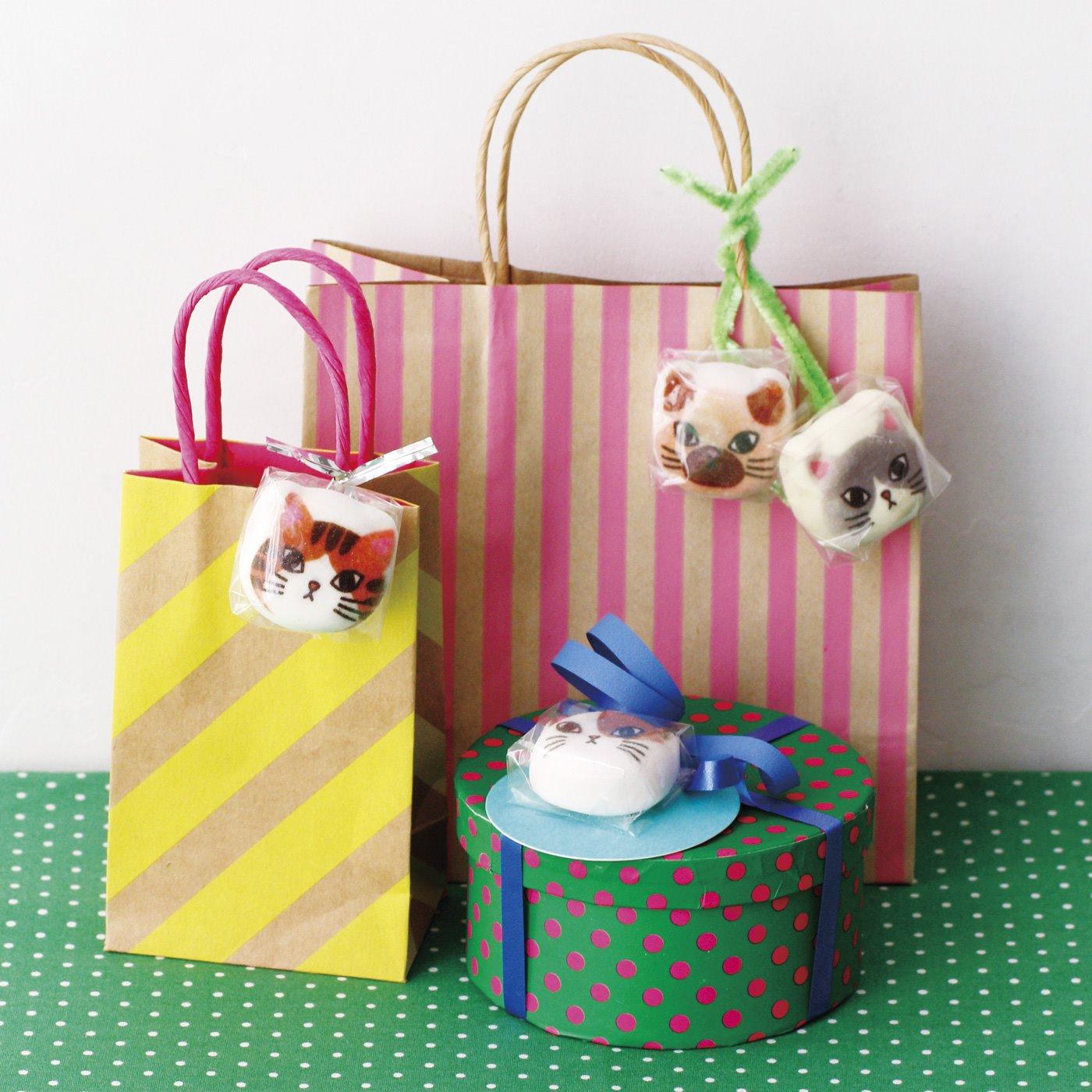 猫好きな友だちへのプレゼントやお礼にも♪