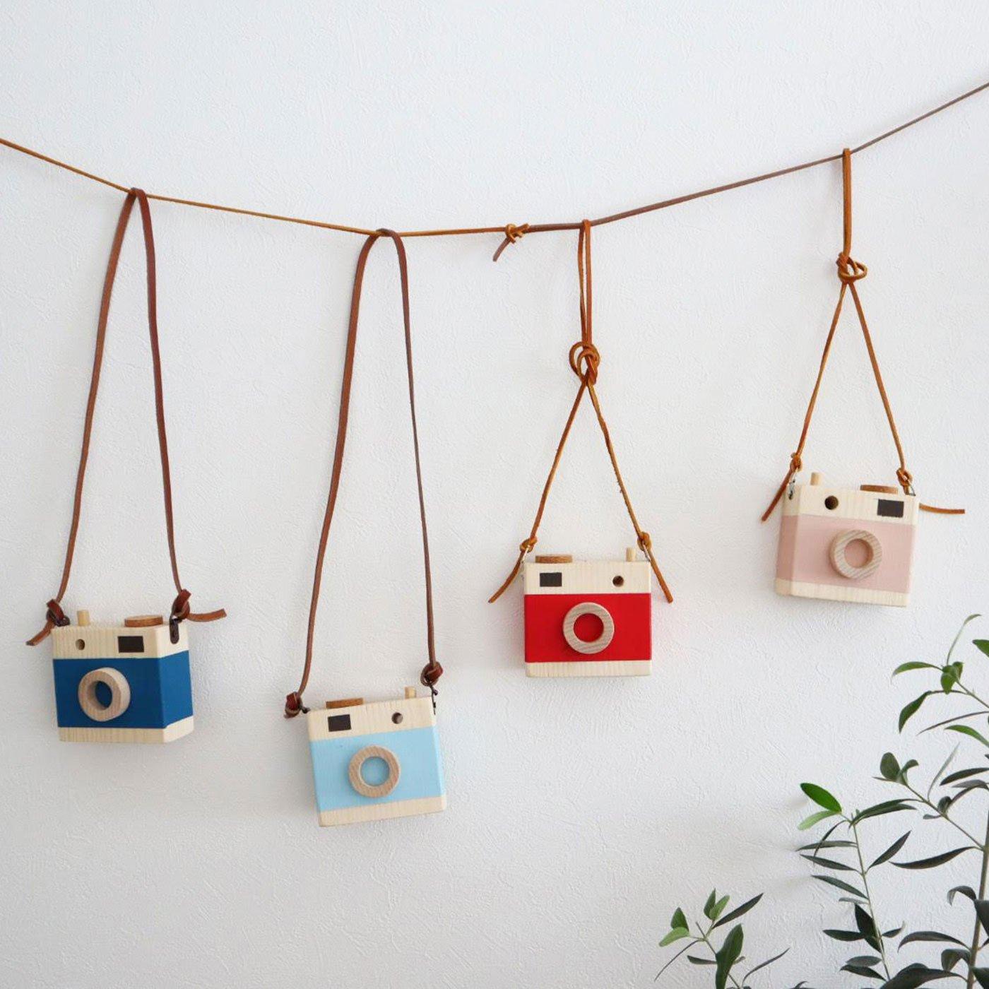 おもちゃの木製カメラ DIYキット