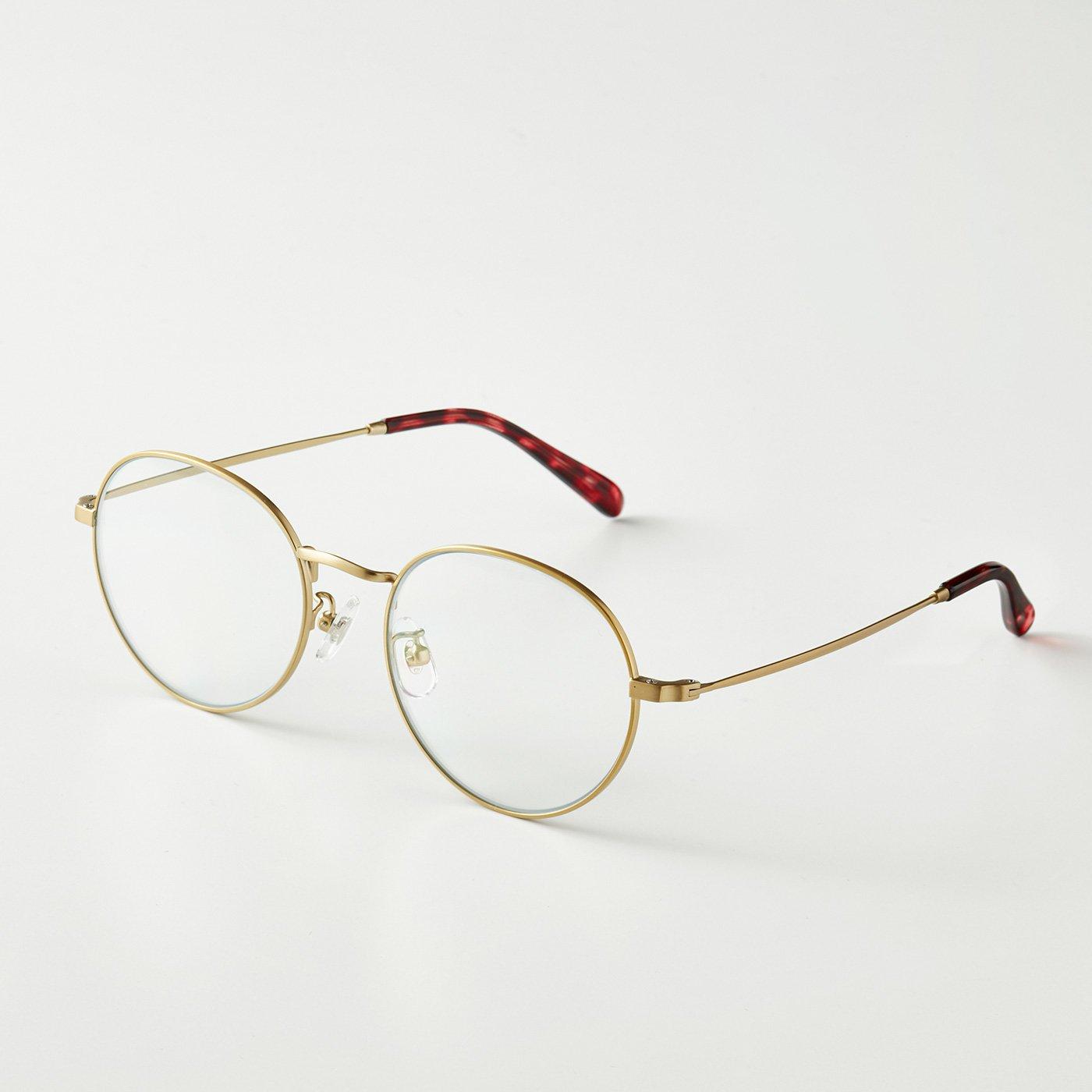 UVカット99% 細フレームでさりげない 眼鏡感覚のクリアサングラス