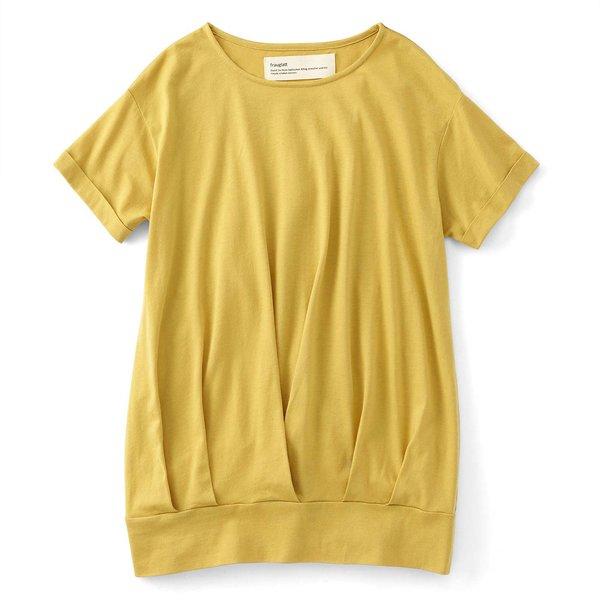 フラウグラット 一枚でコーデOK! Tシャツ素材の汗じみ対策チュニックの会