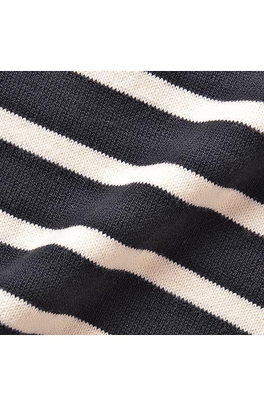 やわらかく編み立てたオーガニックコットンは、くったりなじんで気持ちいい。