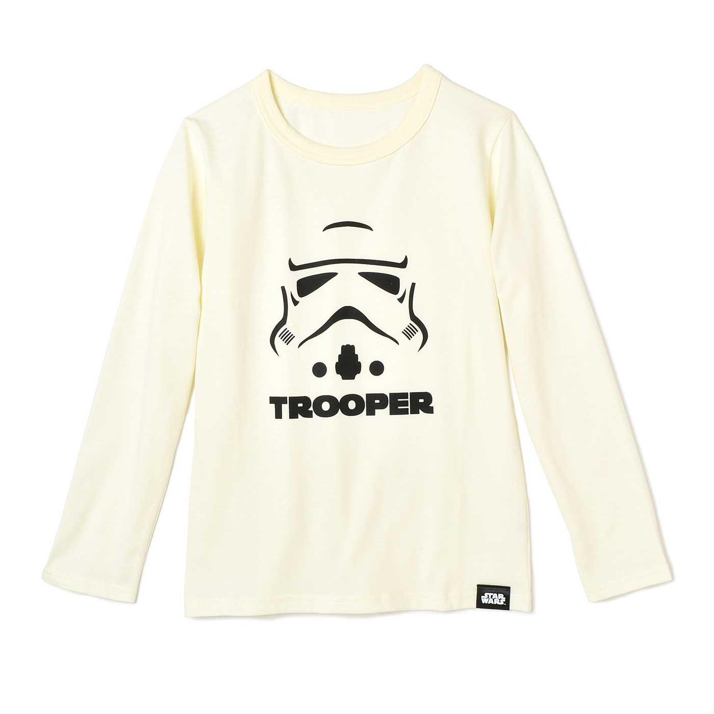 STAR WARS 長袖Tシャツ〈アイボリー〉