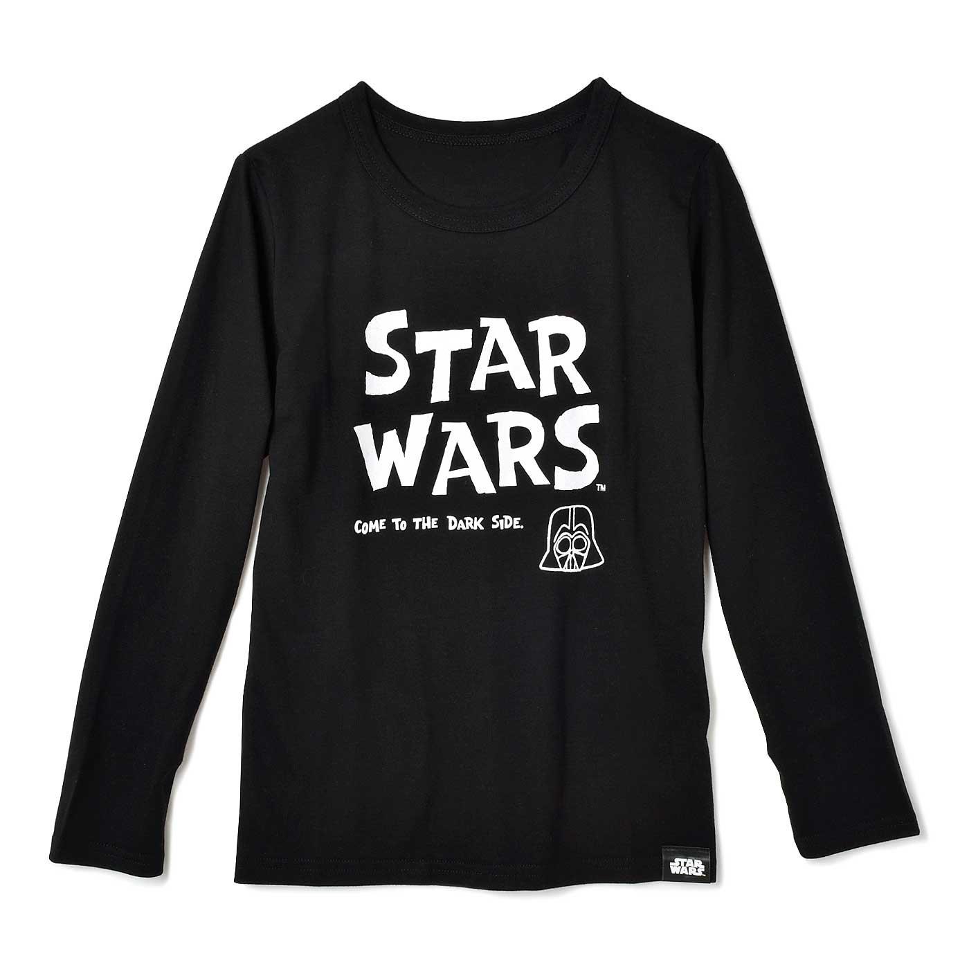 STAR WARS 長袖Tシャツ〈ブラック〉