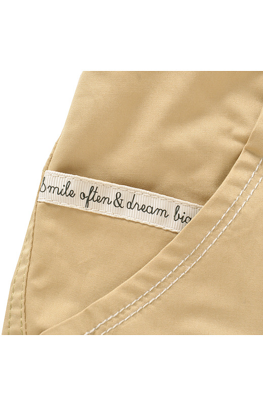 コインポケットには、「smile often & dream big」の文字が。