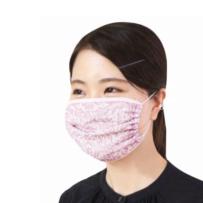 なめらかで気持ちいい シルク混3重ガーゼのマスク