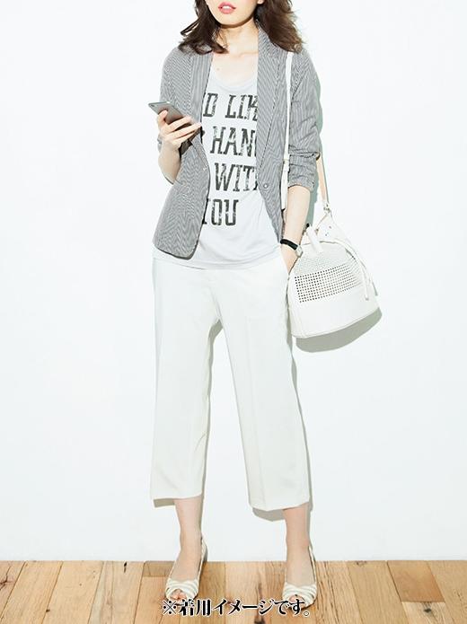 これは参考画像です。 気軽にシャツ感覚ではおって、袖をまくったり、衿を立てて着くずしてもかっこよく着られます。