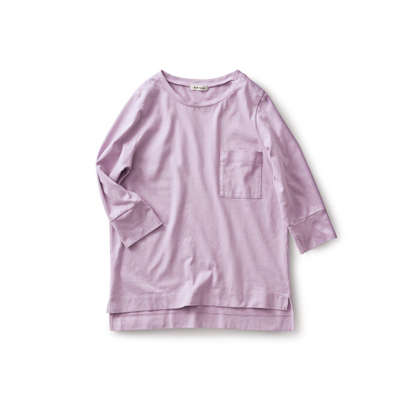 and myera ピマコットンTシャツ