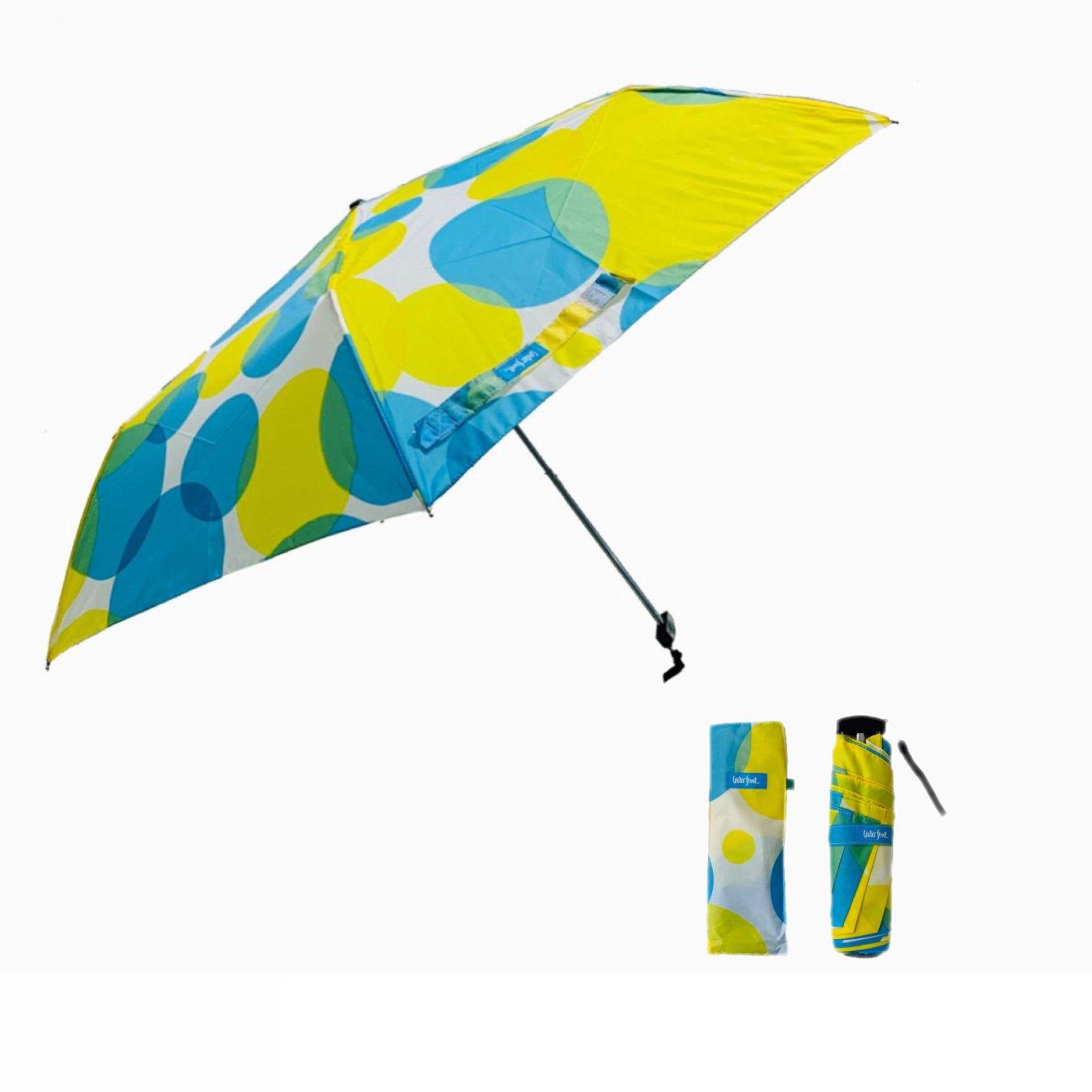 ポップなドットにきゅん 晴雨兼用傘 薄型ポケフラット(R)POPドット