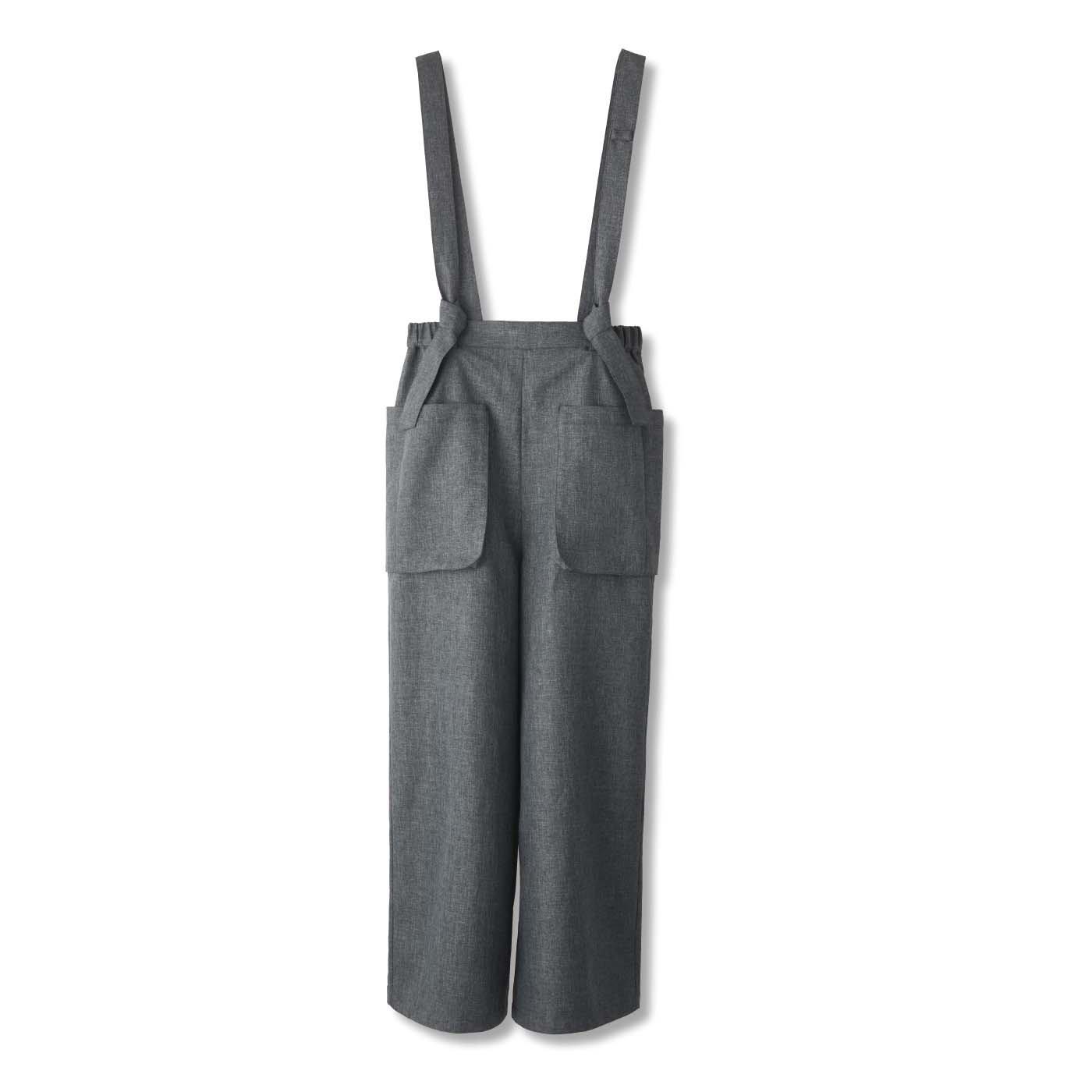 UP.de 着られるバッグ はたらきもののポケットいっぱい サロペットパンツの会