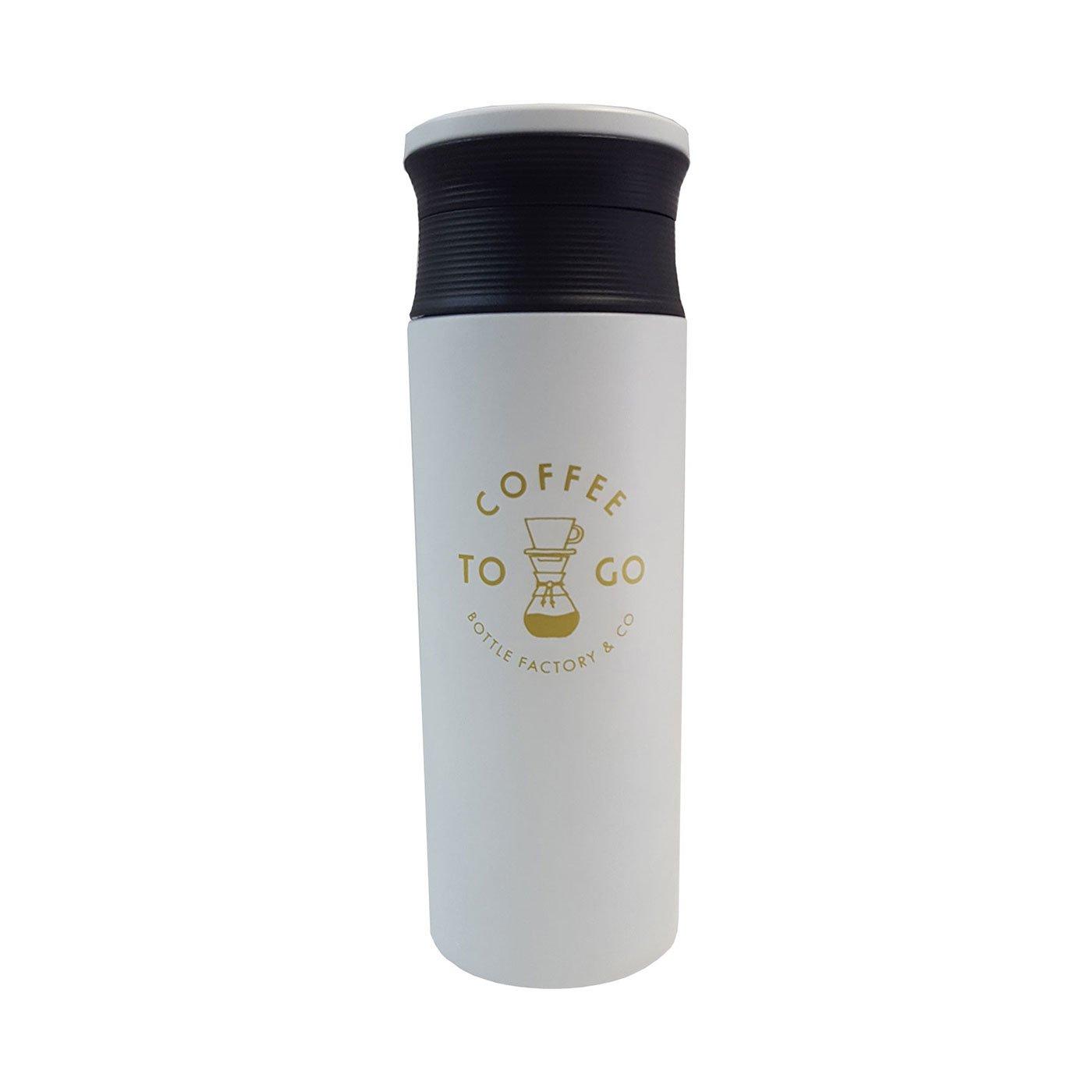 どこでもカフェ気分 トゥーゴー カフェマグボトル〈500ml〉