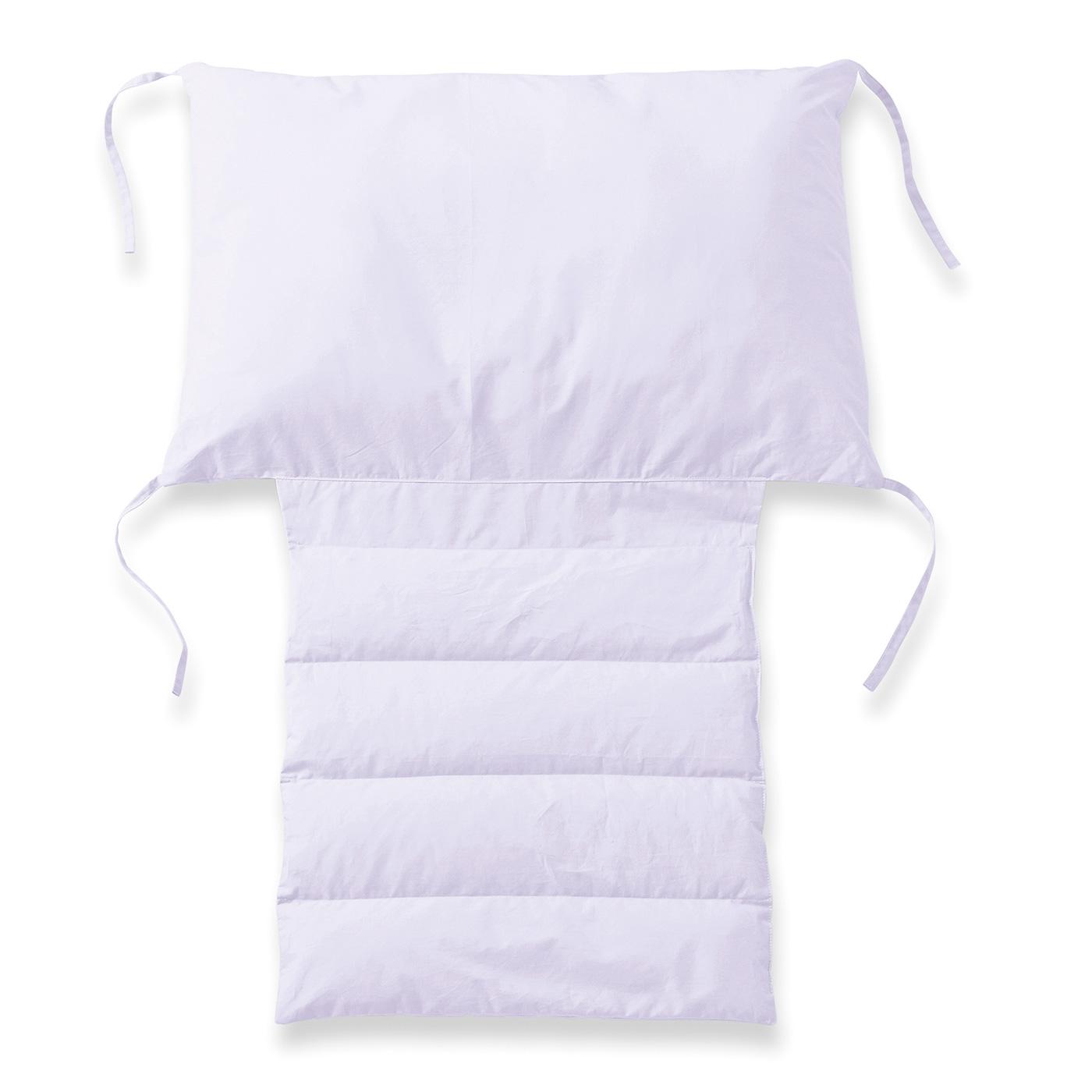 〈ラベンダー〉 生地はさらっと肌にうれしい綿100%。